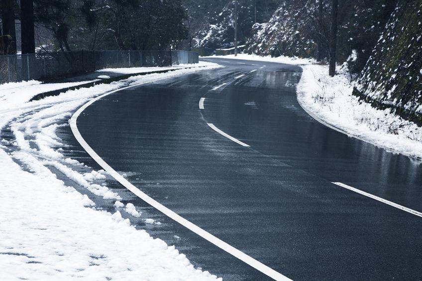 Kisodródott a csúszós utakon?
